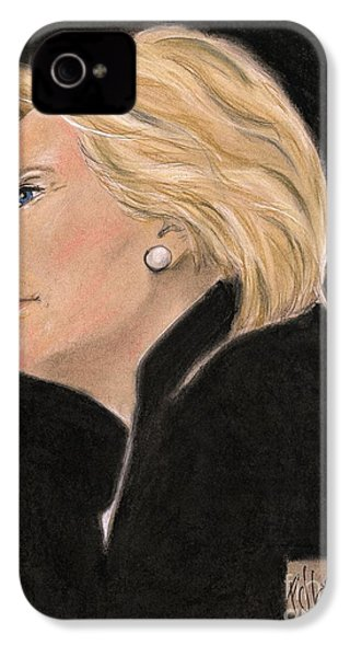 Madame President IPhone 4s Case by P J Lewis