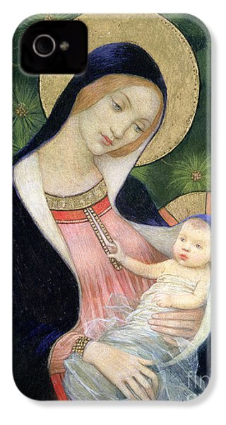 Madonna Of The Fir Tree IPhone 4s Case by Marianne Stokes