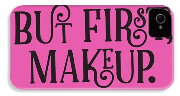 Makeup  IPhone 4s Case by Elizabeth Taylor