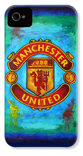 Manchester United Vintage IPhone 4s Case