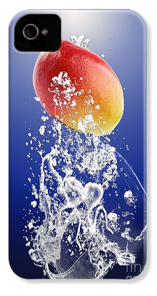 Mango Splash IPhone 4s Case by Marvin Blaine