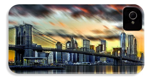 Manhattan Passion IPhone 4s Case by Az Jackson