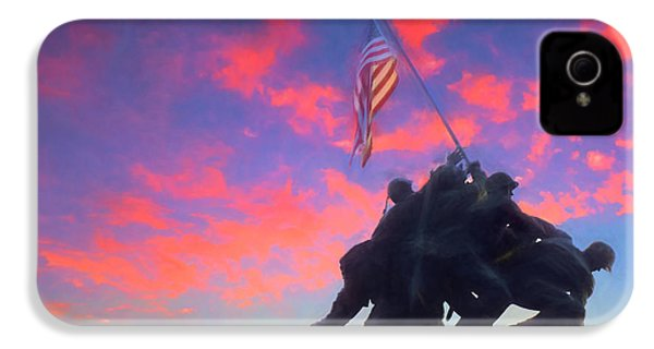 Marines At Dawn IPhone 4s Case by JC Findley