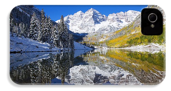 Maroon Lake And Bells 1 IPhone 4s Case