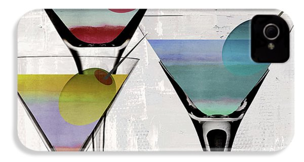 Martini Prism IPhone 4s Case by Mindy Sommers