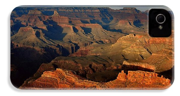 Mather Point - Grand Canyon IPhone 4s Case by Stephen  Vecchiotti