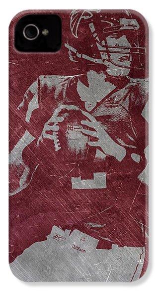 Matt Ryan Atlanta Falcons IPhone 4s Case by Joe Hamilton