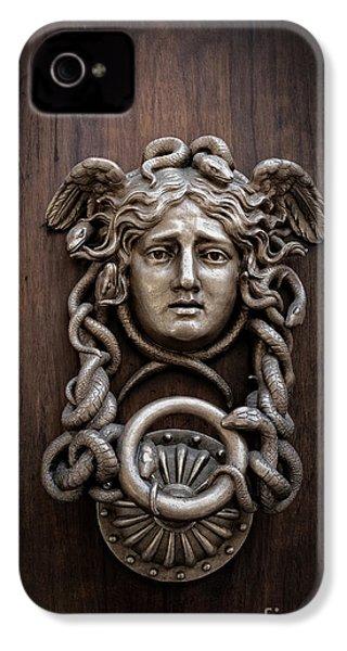 Medusa Head Door Knocker IPhone 4s Case by Edward Fielding