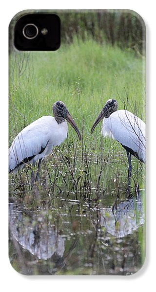 Meeting Of The Minds IPhone 4s Case by Carol Groenen