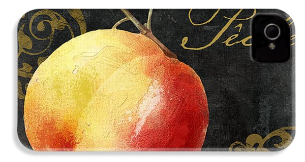 Melange Peach Peche IPhone 4s Case by Mindy Sommers