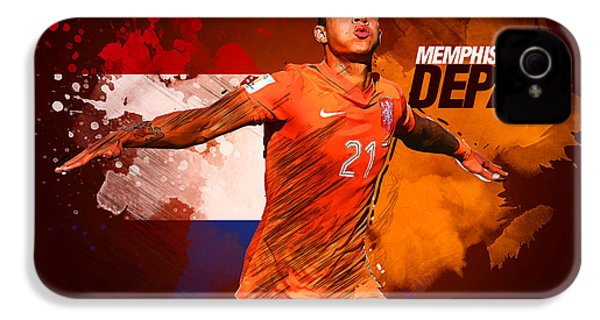 Memphis Depay IPhone 4s Case