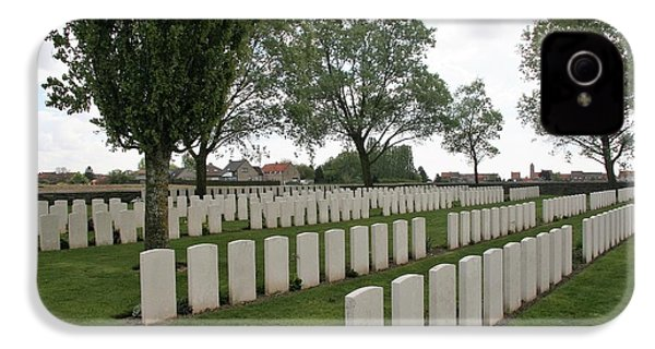 IPhone 4s Case featuring the photograph Messines Ridge British Cemetery by Travel Pics