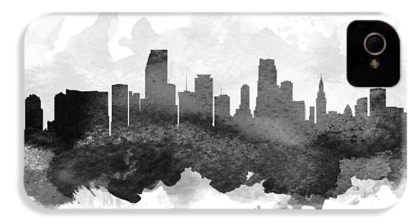 Miami Cityscape 11 IPhone 4s Case by Aged Pixel