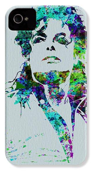 Michael Jackson IPhone 4s Case by Naxart Studio