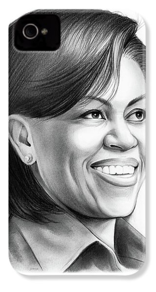 Michelle Obama IPhone 4s Case by Greg Joens