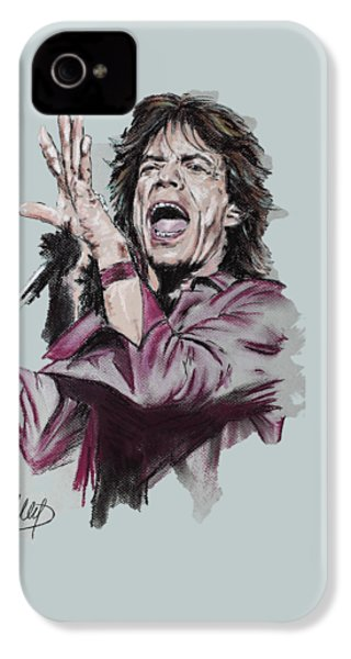 Mick Jagger IPhone 4s Case