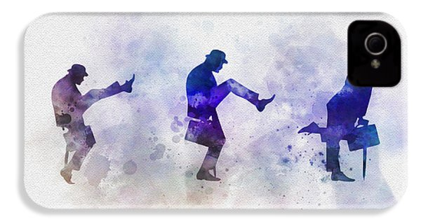 Ministry Of Silly Walks IPhone 4s Case by Rebecca Jenkins
