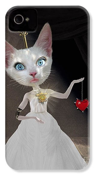 Miss Kitty IPhone 4s Case by Juli Scalzi