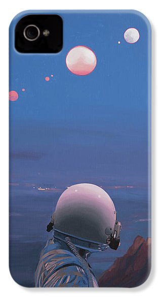 Moons IPhone 4s Case by Scott Listfield
