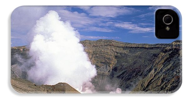 IPhone 4s Case featuring the photograph Mount Aso by Travel Pics
