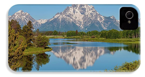 Mount Moran On Snake River Landscape IPhone 4s Case