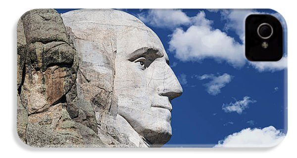 Mount Rushmore Profile Of George Washington IPhone 4s Case
