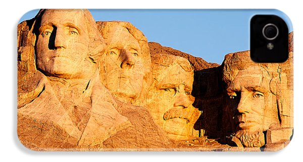 Mount Rushmore IPhone 4s Case by Todd Klassy