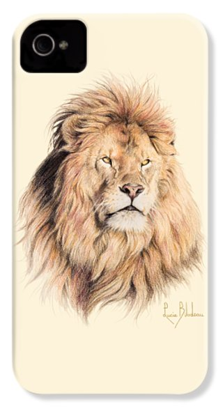 Mufasa IPhone 4s Case by Lucie Bilodeau