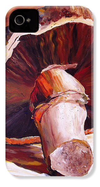 Mushroom Still Life IPhone 4s Case by Toni Grote
