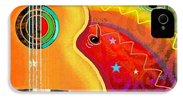 Musical Whimsy Painting By Svetlana IPhone 4s Case