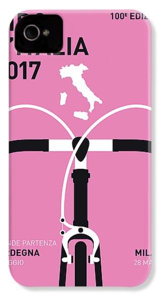 My Giro Ditalia Minimal Poster 2017 IPhone 4s Case by Chungkong Art
