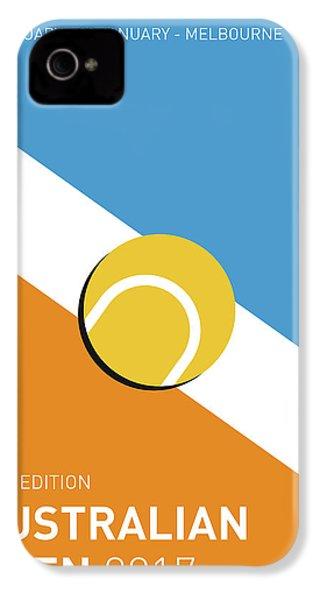 My Grand Slam 01 Australian Open 2017 Minimal Poster IPhone 4s Case by Chungkong Art