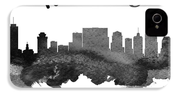 Nashville Tennessee Skyline 18 IPhone 4s Case by Aged Pixel