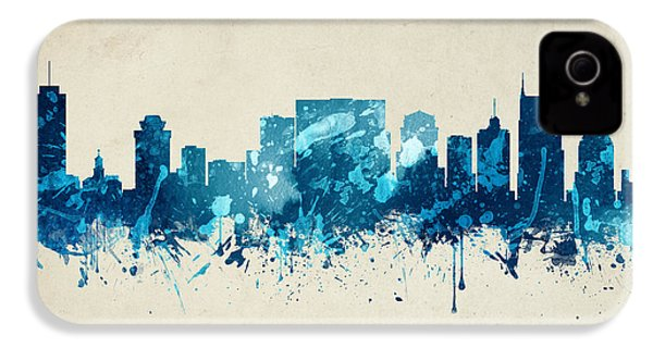 Nashville Tennessee Skyline 20 IPhone 4s Case by Aged Pixel