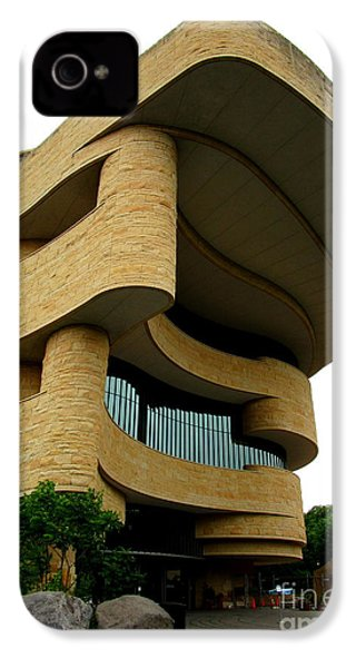 National Museum Of The American Indian 1 IPhone 4s Case by Randall Weidner