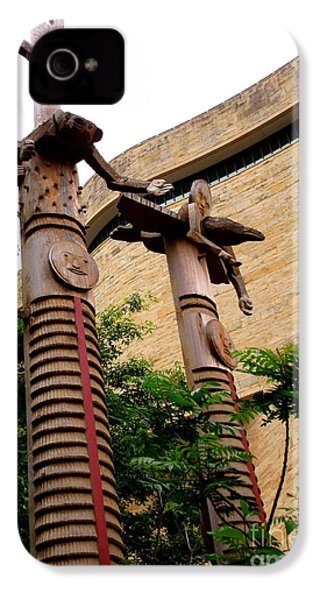 National Museum Of The American Indian 3 IPhone 4s Case by Randall Weidner