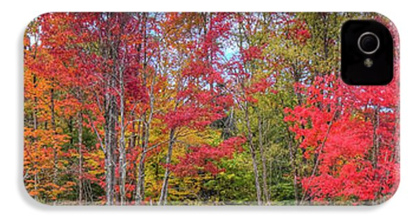 IPhone 4s Case featuring the photograph Natures Autumn Palette by David Patterson