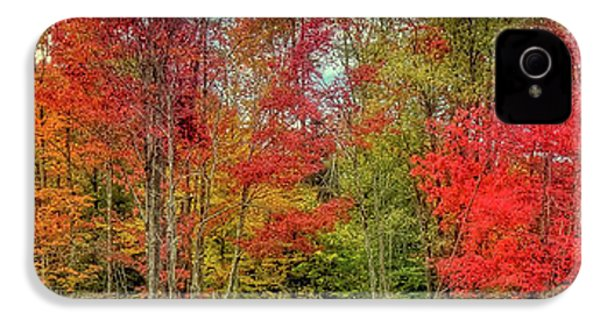 IPhone 4s Case featuring the photograph Natures Fall Palette by David Patterson