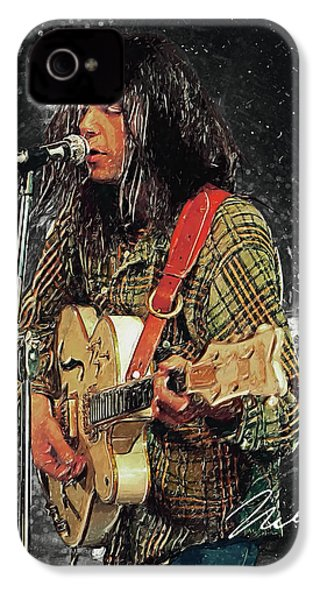 Neil Young IPhone 4s Case by Taylan Apukovska