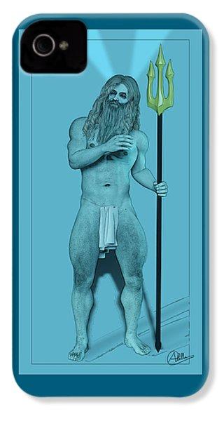 Blue Neptune IPhone 4s Case by Quim Abella
