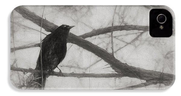 Nevermore IPhone 4s Case by Melinda Wolverson