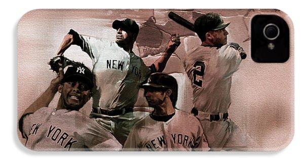 New York Baseball  IPhone 4s Case by Gull G