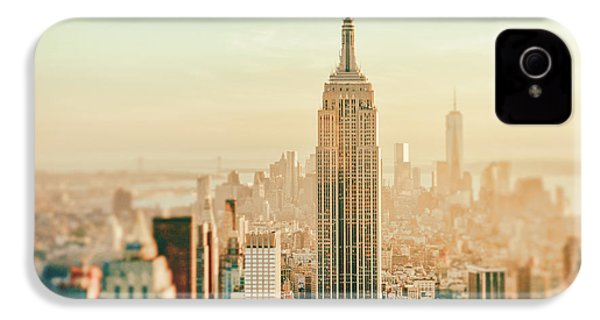 New York City - Skyline Dream IPhone 4s Case by Vivienne Gucwa