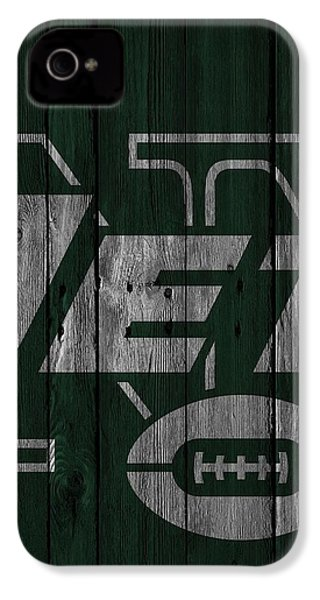 New York Jets Wood Fence IPhone 4s Case