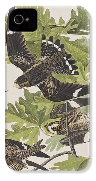 Night Hawk IPhone 4s Case by John James Audubon