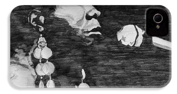 Nina Simone IPhone 4s Case by Rachel Natalie Rawlins