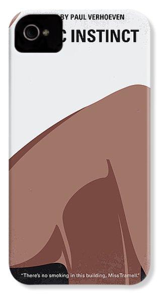 No007 My Basic Instinct Minimal Movie Poster IPhone 4s Case