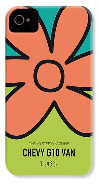 No020 My Scooby Doo Minimal Movie Car Poster IPhone 4s Case by Chungkong Art