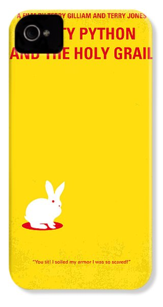 No036 My Monty Python And The Holy Grail Minimal Movie Poster IPhone 4s Case by Chungkong Art