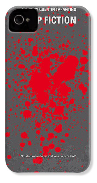 No067 My Pulp Fiction Minimal Movie Poster IPhone 4s Case by Chungkong Art